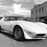 Corvette eines unserer Autostellplatz Kunden
